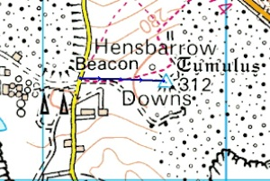 henbarrow beacon route